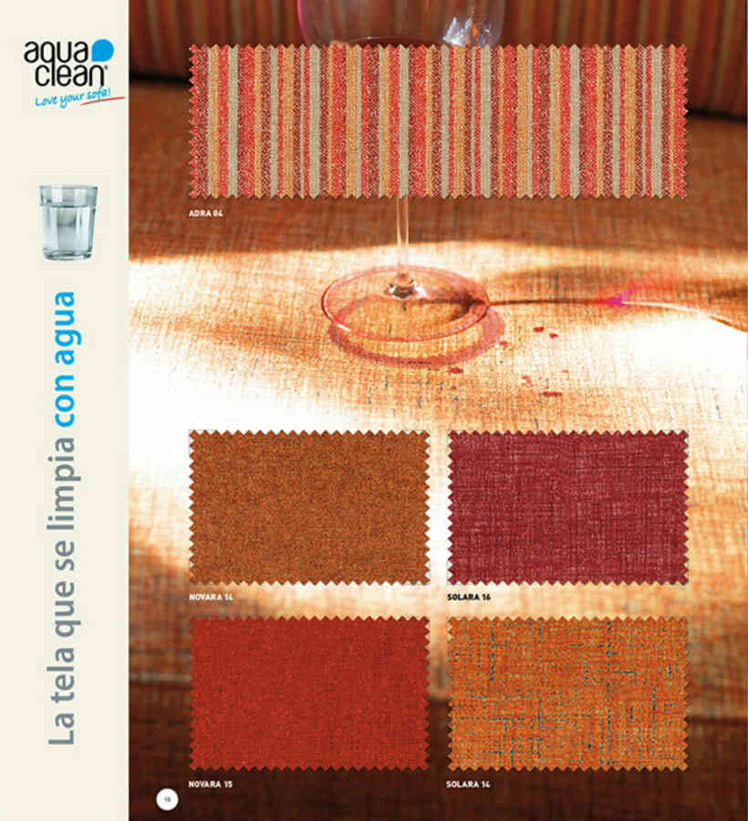 Telas para tapizar sillas, sofás y sillones