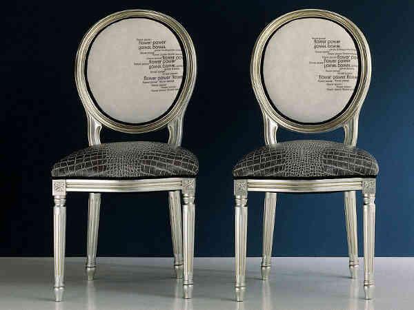 Tapicería moderna para sillas de comedor y estancias