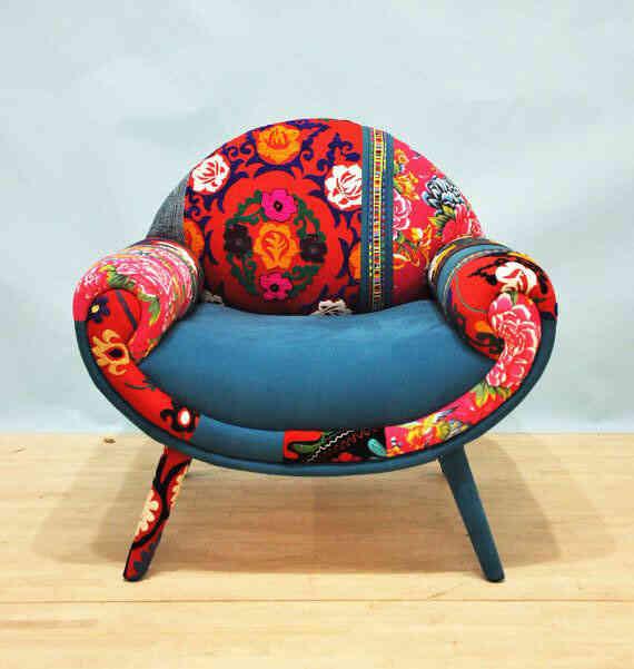 Tapiceria sillon de diseño