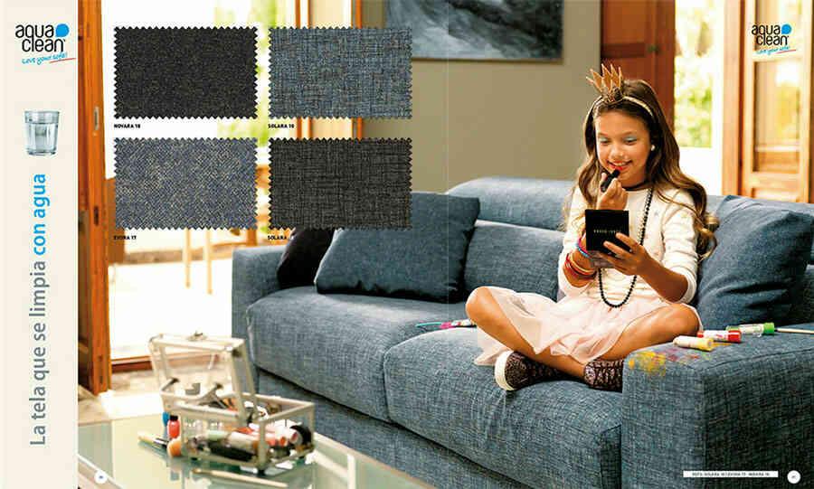 Tela para tapizado sofá